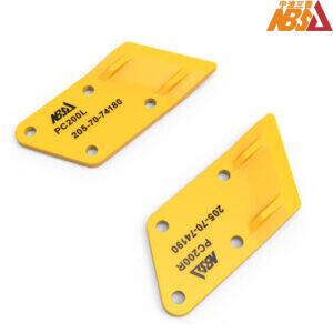 205-70-74180, 205-70-74190, Komatsu PC200 PC210 PC220 Bolt On Side Cutters