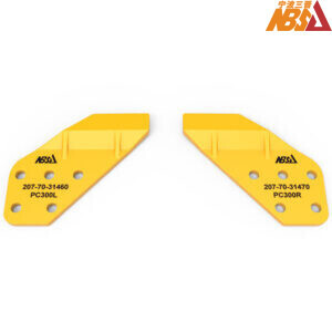 207-70-34160, 207-70-34170 Komatsu PC300 Excavator Spare Parts Sidecutter