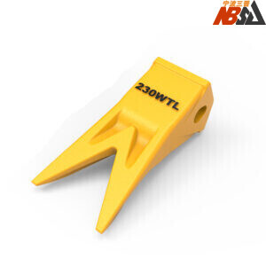 23WTL 230WTL Twin Tiger Tooth Bucket Assembly