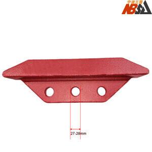 3 Holes Bucket Side Cutters For Kobelco SK260